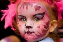 Face it! / Let's paint faces! / by Cheryl Brezinski