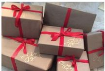 Simplified Gift Wrap / How to wrap gifts simply and beautifully with brown paper. / by Mystie Winckler