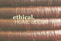 Ethical Home Decor! / by Awava