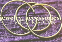 Jewelry & Accessories we are Mad About! / We're focusing on the recycled, upcycled and interesting!  / by Awava