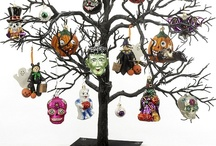Halloween Ornaments / Great ideas for creating an indoor haunting scene in your home this Halloween or fall season!  A Black Twig Tree from www.ornamentshop.com is a perfectly spooky way to display Halloween ornaments! / by Ornament Shop