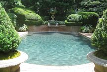 pools and patios / by Holly Stafford