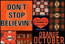 S.F. Giants  ~ The greatest team on the planet / by Kimberly Hamner