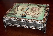 Cigar Boxes / by Kathy Win