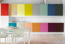 Colorful Kitchens / Inspiration for adding a touch of color to your kitchen. / by Kohler Co.