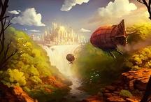 SciFi / Fantasy / Science fiction & fantasy illustrations / by Maxime Duprez