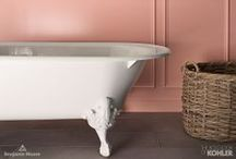 Southern Charm / For more than 130 years, Kohler and Benjamin Moore have made it their mission to fill homes with innovative design and quality products, all with a focus on  glorious color.  #CollaborationinFullColor / by Kohler Co.