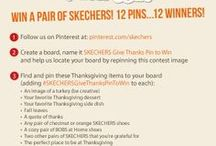 SKECHERS Give Thanks Pin To Win / I LOVE SKECHERS GO WALK, i HAVE A COUPLE PRS AND IVE BOUGHT THEM FOR ALL OF MY FAMILY.tHE SOLE ON THEM CANNOT BE BEAT, PERIOD.TRY A PAIR! People aalways stop me and ask me about them everytime I wear them.Im happy to tell them just how wonderful they are! / by Cindi Tailz
