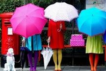 ♪ ♪ Il pleut, il mouille...♪ ♪ / by Helene Paradis