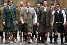 Dressed to Kilt / Men, get a kilt.  Let me repeat that: GET A KILT.  Why do you deny us, when we so clearly adore it? Utili-kilt, tartan kilt, khaki kilt ... it will look good, and she'll love you. It's a win-win. / by IamCalypso