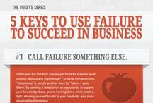 #FailureKeys / How can you use failure as a means to succeed in business? / by Entrepreneur
