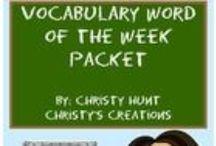School Stuff / by Christy Hunt