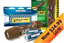 Online Special Offers! / Check out our current offers for rayovac.com and stay tuned for exciting offers to come! / by Rayovac