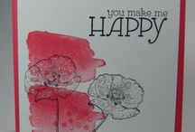 Stampin Up / Only Stampin Up products used / by Dolores Marriott