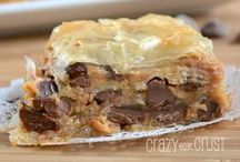 Crazy for Dessert Recipes / A collection of delicious gooey sweet treats! / by Crazy for Crust