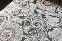 Pen, Ink, Tangles, Zentangles, Zen / by Aprille Brewer