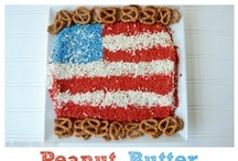 Crazy for the Fourth of July / Fourth of July Recipes and Crafts / by Crazy for Crust