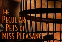 The Peculiar Pets of Miss Pleasance / The second novella in the Blud series from Pocket/S&S, out April 1, 2013.   A lady with a penchant for pets meets a sexy fireman in this magical and saucy steampunk eNovella from the author of Wicked as They Come.  http://books.simonandschuster.com/Peculiar-Pets-of-Miss-Pleasance/Delilah-S-Dawson/9781476715414 / by Delilah S. Dawson