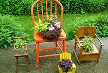 Upcycled Projects / One man's trash is another man's DIY craft. See clever ways to repurpose the old.  / by DIY Network