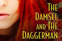 The Damsel and the Daggerman / He's a bad boy knife thrower with a dark secret. She's a hard-nosed lady adventurer and journalist who will stop at nothing to nail her story. They meet in the caravan, and things really get dangerous... / by Delilah S. Dawson
