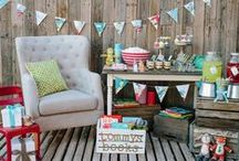 DIY Parties / From tablescapes to decorations, get inspiration for your next party with these DIY budget ideas.  / by DIY Network