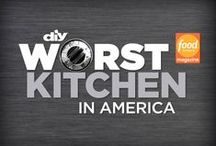 Worst Kitchen in America / Help DIY Network and Food Network Magazine pick the Worst Kitchen in America. The kitchen with the most votes gets a makeover from DIY Network's Kitchen Crashers. / by DIY Network