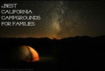 Best Northwest and California Campgrounds for Families / Best #campgrounds in the Pacific Northwest and CA for families: national park and state park campgrounds, plus private campgrounds! #travel #camping / by Pit Stops for Kids Travel