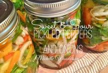Canning / If it fits in a mason jar, I'll can it! / by Michelle Wooderson