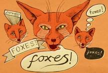 Fox Art / by Heather Barrett