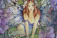 Fairies Fantasy / by BaronessBarb VonBernewitz