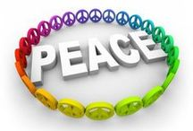peace, love & hippies / by Charlene Knapp