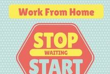 Work At Home / This board is dedicated to making money from home / by CouponW.A.H.M