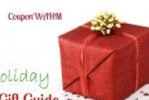Holiday Shoppers Gift Guide / These are just a few of my recommendations for the Holiday Season. / by CouponW.A.H.M