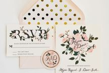 All things Wedding stationary / Invitations, save the dates, Thank you  Cards . / by Johanna Björk
