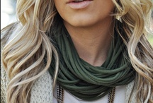 my style of scarves / by Chris Holst
