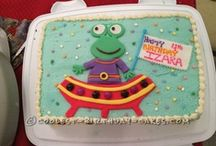 Coolest Birthday Cakes / The 2014 Coolest Cake Decorating Contest is ON with $500 in Prizes! Submit your cake to this year's contest: http://bit.ly/SubmitCake. Real do-it-yourself birthday cakes created by real people like you. Just click on any cake and you'll see how-to instructions. So even if some of the birthday cakes aren't picture-perfect, they're all ones you can REALLY make!  / by CoolestParties