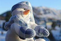 snowmen / by Chris Holst