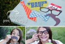 Party & Event Freebies / Free printable for for all parties and events!  Free bunting flags, cupcake toppers, invitations, table numbers, etc. / by Fab N' Free