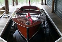 For the Love of the Water - Wood Boats / by Scott A. Turner
