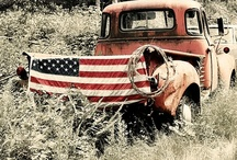 Mostly Americana / I love old fashion, small town 4th of July parades, Americana decor and RED, WHITE and BLUE! / by Genia Seghetti  -  Mountain Girls Adventures