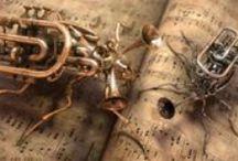 "Design: Steampunk / by Anne ""ArizoNative"""