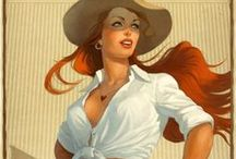 """Girly: Pin-Up Princesses / by Anne """"ArizoNative"""""""