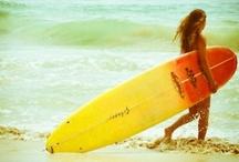 surfing / by Jeane Kira