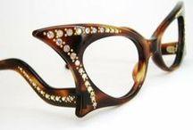 Vintage  Glasses / Eye Glasses / by Sheri Bryant