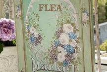 Flea market & yard Sale Finds / by Kathy Barnes