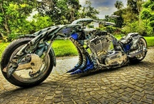 Motorcycles / BAD To the BONE!!! / by Sheri Bryant