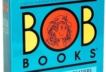 BOB Books / Using BOB books?  Find everything you need -- printables, apps, activities, and more -- right here!  Also stay tuned for weekly free printables to go along with each book posted by Rockabye Butterfly, 3 Dinosaurs, Royal Baloo, This Reading Mama, Walking by the Way, and In Lieu of Preschool! :) / by In Lieu of Preschool & Parent Teach Play