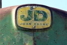 Tractors! (Love John Deere! / by Sabrina Kile