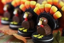 Gobble Gobble! / It is now common knowledge that the average American gains 7 pounds between Thanksgiving and New Year's Day. / by Payton Lee