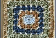 Granny Squares / Crochet Granny Square patterns found throughout the internet / by Heather Gibbs
